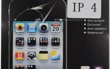 Transparentní ochranná folie na iPhone 4