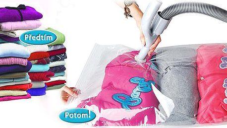 10 vakuových pytlů na oblečení, poštovné zdarma