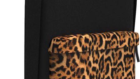 Batoh Sprayground Leopard Sneak Attack Orange černá / oranžová