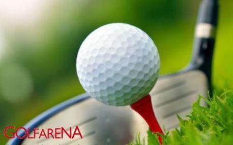 Hodina golfu s trenérem, veškerého vybavení a vstupu
