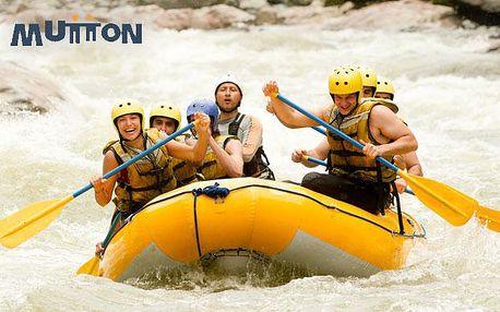Rafting na řece Váh s videem a fotkami ze splavu