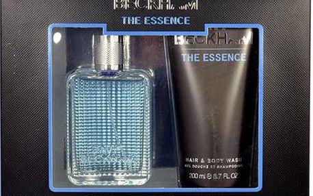 David Beckham The Essence EDT dárková sada M - Edt 50ml + 200ml sprchový gel pro muže
