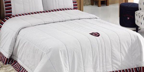 Sada přehozu přes postel a polštáře U.S. Polo Assn. Illinois, 180x250 cm - doprava zdarma!