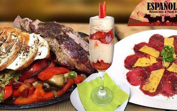 3chodové španělské letní menu pro dva