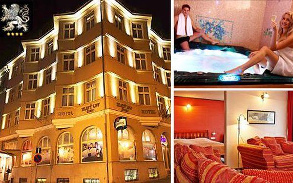 Špičkový Hotel Zlatý Lev**** s víkendovým wellness pobytem pro dva + dítě do 6 let zdarma