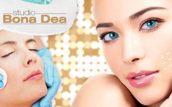 60minutové kosmetické ošetření pleti