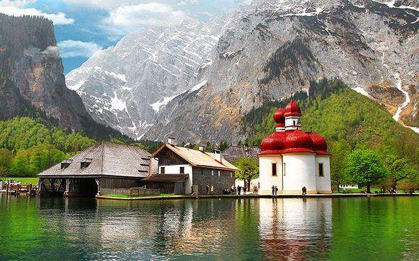 1denní zájezd do Německa na Orlí hnízdo a k jezeru Königsee pro 1 osobu