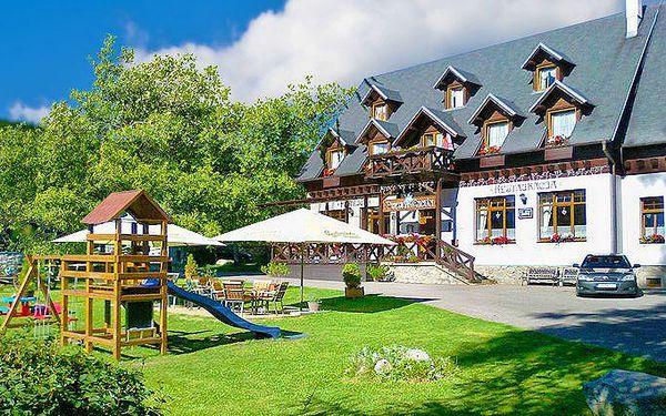 Až 8denní pobyt pro 2 s polopenzí a wellness v hotelu Encián na Slovensku