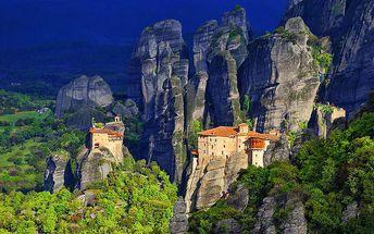 5denní zájezd za tím nejlepším ze severní a střední části Řecka pro 1 osobu