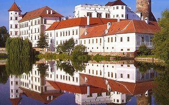 Týden v Jindřichově Hradci u zámku s polopenzí a dárkem v hotelu *** VAJGAR
