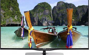 Krásná 3D LED televize Sharp AQUOS s Full HD rozlišením