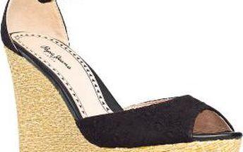 Sandály na platformě Pepe Jeans
