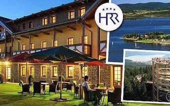 Jaro v luxusním Hotelu Relax na břehu Lipna