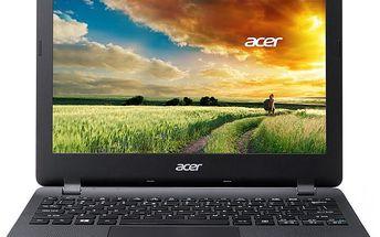 """Mini notebook Acer Aspire E 11 v konfiguraci s HD displejem o velikosti 11,6"""""""
