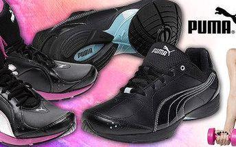 Kožené dámské fitness boty Puma