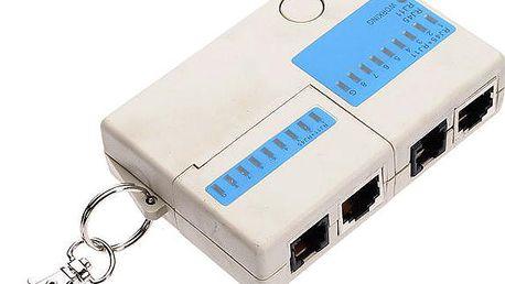 Mini tester síťových kabelů