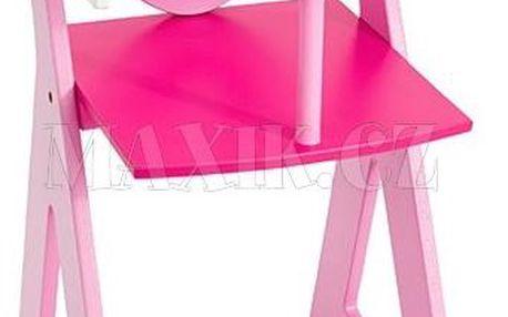KidsHome dřevěná jídelní židlička pro panenky
