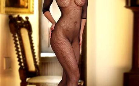 Bodystocking Beauty Night Spider Woman