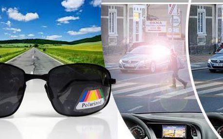 Polarizační sluneční brýle a pouzdro zdarma