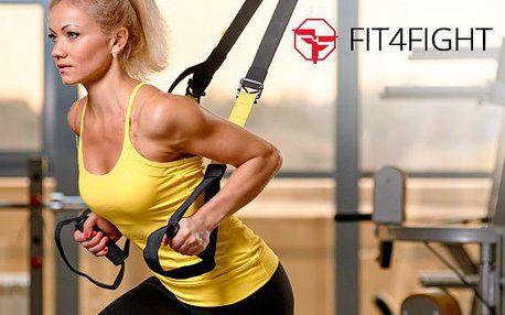 8 lekcí cvičení TRX + Kettlebell a komplexní tělesná analýza