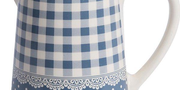 Kávová konvice Blue Dots&Checks