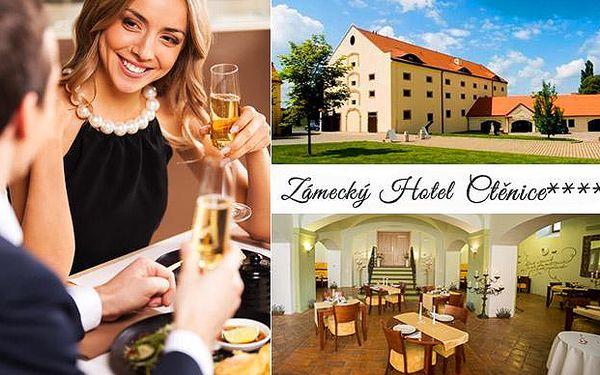 Luxusní letní dovolená pro dva v zámeckému hotelu Ctěnice****