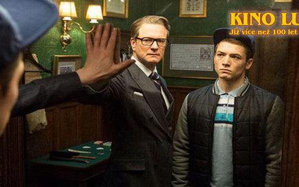 2 lístky do Lucerny na film Kingsman: Tajná služba