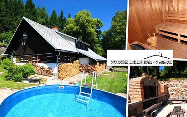 Luxusní chata v horách se saunou a bazénem