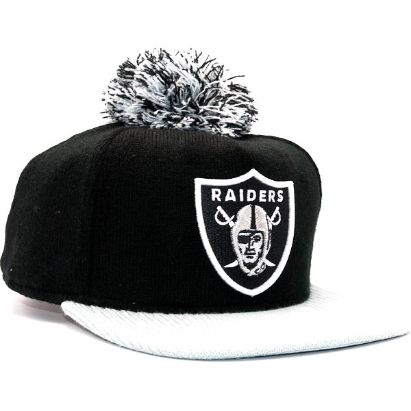 Kšiltovka s bambulí New Era Bobblegame 2 Oakland Raiders Team Colors Snapback
