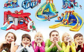 Parádní skákací hrady pro děti od 3 let