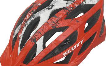 Pánská cyklistická helma Scott Wit Red Matt