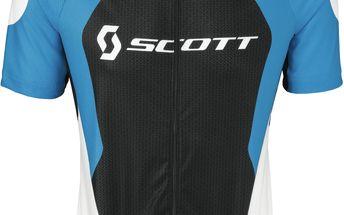 Kvalitní pánský dres s krátkým rukávem Helium 30 s/sl Shirt Blue/Black, modrá