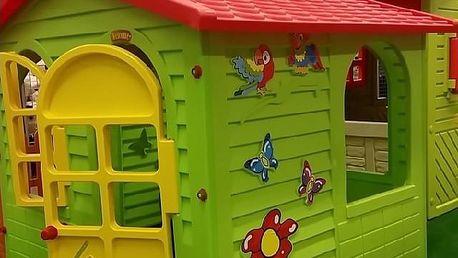 Mochtoys Dětský zahradní domek s plotem velký Garance nejnižší ceny