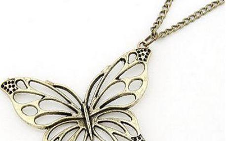 Řetízek Motýl!