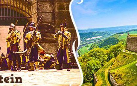 Dobytí pevnosti Königstein: prohlídka a rekonstrukce bitvy pro 1 osobu.