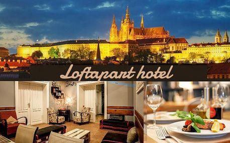 Zážitkový pobyt pro 2-8 lidí v apartmánu v pražské TOP lokalitě