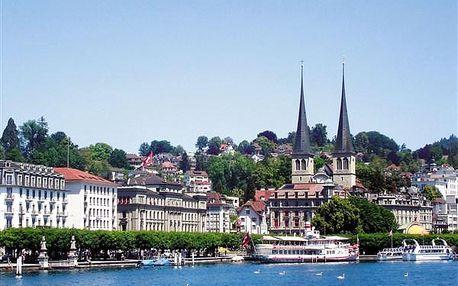 To nejlepší ze Švýcarska, Evropa, Švýcarsko, autobusem, polopenze