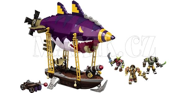Megabloks World of Warcraft Goblin Zeppelin Ambush