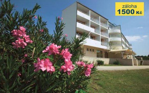Chorvatsko, oblast Severní Dalmácie, doprava vlastní, polopenze, ubytování v 2,5* hotelu na 8 dní