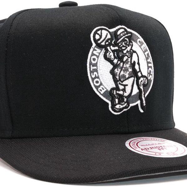 Kšiltovka Mitchell & Ness Nutek Boston Celtics Black Snapback