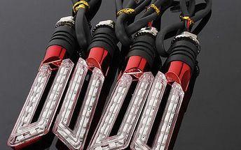 15 LED blinkry na motocykl - 4 barevné provedení