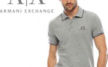 Značkové pánské polo triko Armani