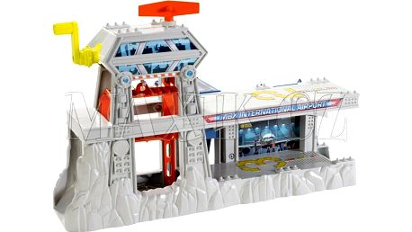 Matchbox Střední připojovací sady Cliffhanger - Letištní záchranáři