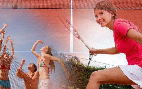 Nohejbal, volejbal nebo tenis v Jablonci nad Nisou