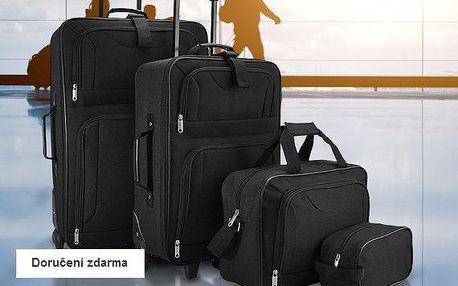 4dílná sada zavazadel – doručení zdarma