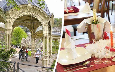 Pobyt na 3 dny s romantickou večeří a relaxem pro 2 osoby - v hotelu*** SUBTERRA - Ostrov nad Ohří