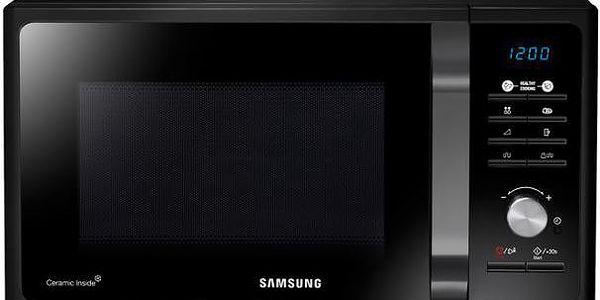 Volně stojící mikrovlnná trouba Samsung MG23F301TAK