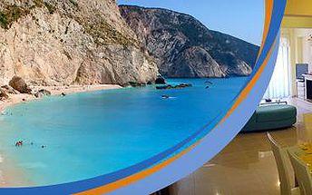 Řecko, Lefkada: Letecký zájezd až na 12 dní! Luxusní apartmány přímo u pláže!