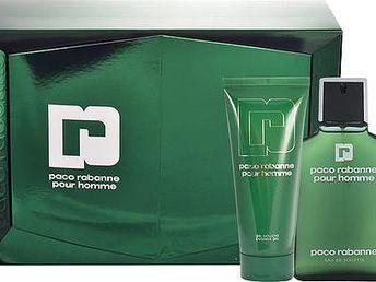 Toaletní voda Paco Rabanne Pour Homme Edt 100ml + 100ml sprchový gel