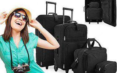 Sada 4 cestovních kufrů včetně doručení